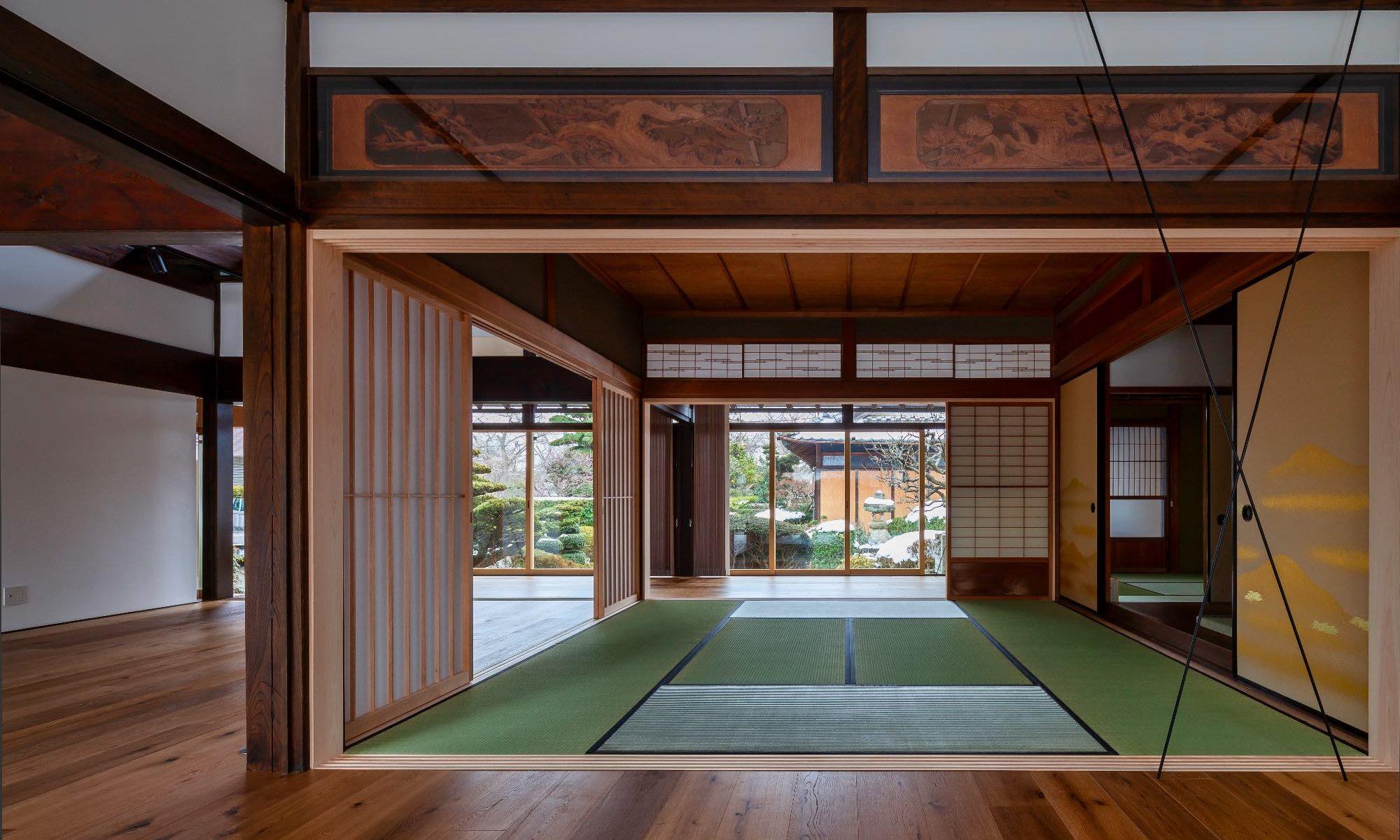 Wide open Tatami & Ranma